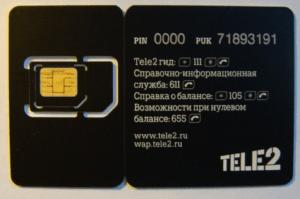 СИМ карты Теле2 с красивым номером